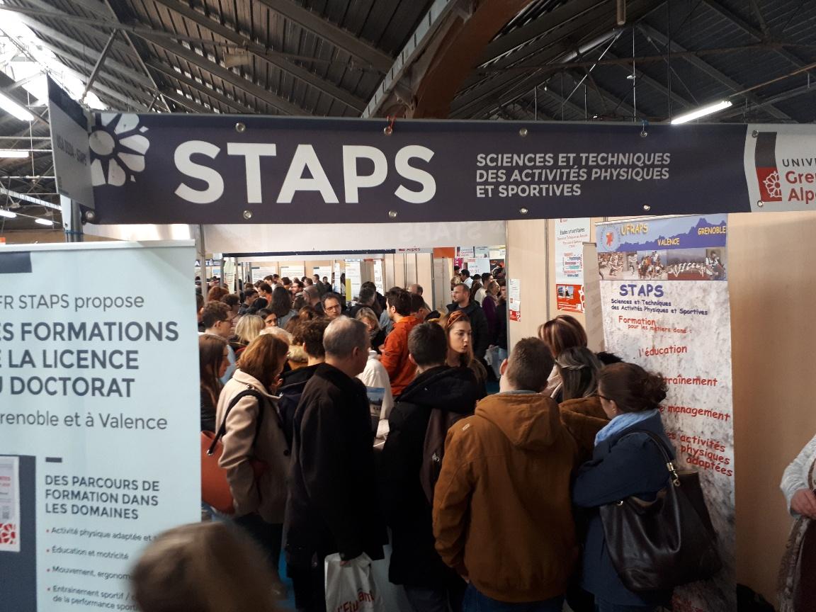 Stand STAPS au forum Post Bac 2020